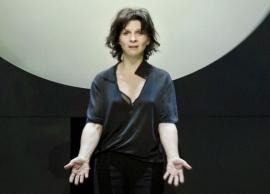 Жюльет Бинош в спектакле «Антигона» Иво Ван Хове